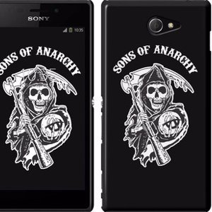 "Чехол на Sony Xperia M2 dual D2302 Sons of Anarchy v1 ""2510m-61"""