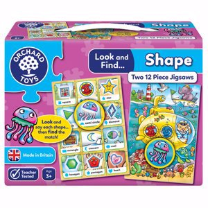 Look & Find Shape Learning Puzzles