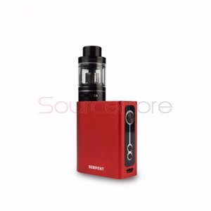 Wotofo Serpent 50W VW/TC Kit with 2000mah and 5ml Capacity-Red