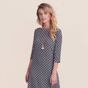Lucy Dress - Distressed Triangles
