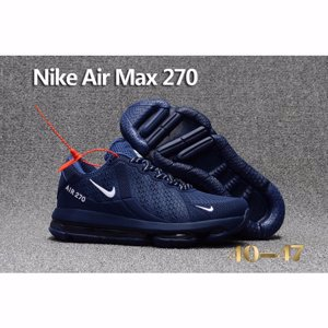 Nike Air Max 270 Navy White Shoes For Men