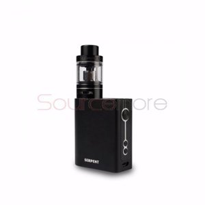 Wotofo Serpent 50W VW/TC Kit with 2000mah and 5ml Capacity-Black
