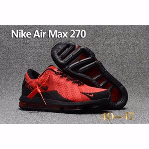 Nike Air Max 270 Red Black Shoes For Men