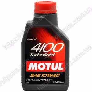 Масло Motul 4100 Turbolight 10W-40 (1л.)