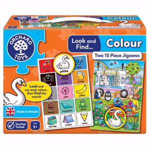 Look & Find Colour Learning Puzzles