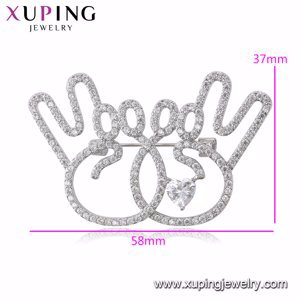 xuping fashion brooches (brooches-25)