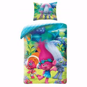 Trolls Bedding TM-9009BL
