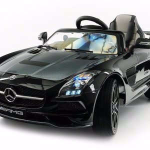 Электромобиль Mercedes-Benz SLS AMG Black Carbon Edition - SX128-S