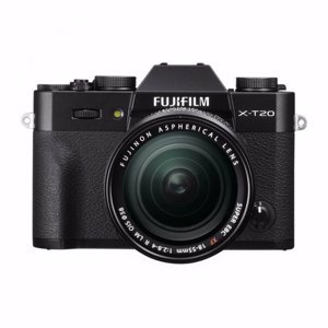 Цифровая фотокамера Fujifilm X-T20 Kit XF 18-55mm F2.8-4 R LM OIS Black