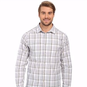 Мужская рубашка The North Face Long Sleeve Traverse Plaid Shirt