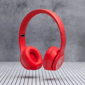 Beats by Dre, Наушники, Solo 3 Wireless Red